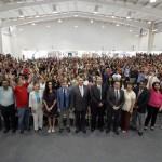 Mil 420 estudiantes de nuevo ingreso se integran a las filas del Bachillerato Central y Oriente de la UAA.