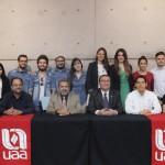 Se premia a ganadores del concurso Emprende UAA 2015