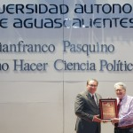 Gianfranco Pasquino impartió conferencia magistral en la Autónoma de Aguascalientes