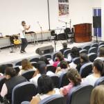 Intérprete de hip hop, Vozcero en la UAA