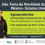 UAA será sede de la 2da Feria de Movilidad Académica México-Estados Unidos