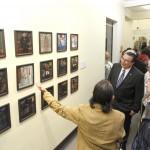 Faustino Barba abarrota museo de la UAA en inauguración de su exposición