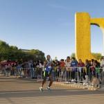 Alrededor de 1500 competidores participaron en la Carrera Atlética Gallos UAA 2015