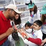 UAA recibe a cerca de cien niños del Club Amigo TELETON en instalaciones de la Posta Zootécnica