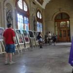Acervo artístico de la Autónoma de Aguascalientes presente en España y Chile