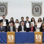 14 Alumnos de la UAA reciben su diploma de Bachillerato Internacional