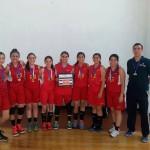 Equipo de baloncesto femenil del BACHUAA logra subcampeonato en Festival Nacional Youth Basketball of America