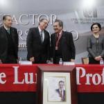 Entrega UAA distinción de benefactor universitario al gobernador Carlos Lozano de la Torre