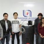 Estudiantes UAA desarrollan biodigestor y cargador solar a tan sólo la mitad de su formación