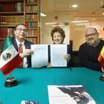 Establecen UAA e Instituto Cultural de México en España convenio de colaboración