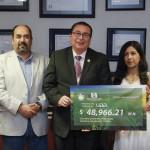 Fondo de Becas de la UAA se robustece con cerca de 50 mil pesos