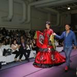 Ganadores de los concursos Deshilarte y Traje Típico de Unimodaa hacen homenaje a las tradiciones textiles de Aguascalientes