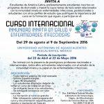 UAA oferta Curso Internacional sobre Inmunidad Innata en Salud y Enfermedades Infecciosas con el Instituto Pasteur de Francia