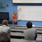 Investigador del Instituto de Matemáticas de la UNAM impartió en la UAA la conferencia Topología algebraica