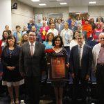 UAA entrega reconocimiento a Blanca Rivera Río por ser Ilustre Benefactora de la Cultura y las Artes