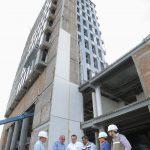 Edificio Académico Administrativo de la UAA al 80 por ciento de construcción total