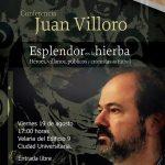 El escritor y periodista mexicano Juan Villoro dictará conferencia en la Autónoma de Aguascalientes