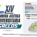 Convoca UAA a participar en la XIV Carrera Atlética Gallos y Maratón Acuático
