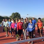 Concluye jornada de torneos de tenis del Bachillerato de la UAA