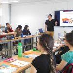 Estudiantes de Docencia de Francés y Español de la UAA mantienen constante vinculación con profesionales nativos de Francia