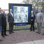 Nuevas galerías urbanas de la UAA rememoran figuras de dos importantes aguascalentenses
