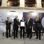 Reconoce UAA con Galardón Mención Honorífica al Mérito Profesional a Juan Manuel Ponce Sánchez y Jorge Enrique Sinclair Ávila