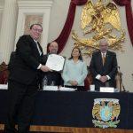 ANUIES y SCJN entregan Distintivo Vanguardia a la UAA por adecuación pertinente de programas de estudio al nuevo sistema de justicia penal