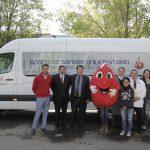 Centro Estatal de Transfusión Sanguínea y Grupo Empresarial Norte equiparán nueva unidad móvil de Banco de Sangre Universitario