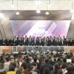 Toma protesta nuevo rector de la UAA ante H. Consejo Universitario y en compañía de los tres poderes del Estado locales
