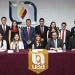 Rinde protesta nueva mesa directiva de la UAA como parte de la organización estudiantil nacional IMEF-Universitario
