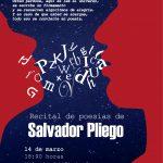 El escritor mexicano Salvador Pliego ofrecerá recital de poemas en la Autónoma de Aguascalientes