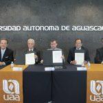 Autónoma de Aguascalientes y COESAMED suscriben convenio de colaboración para mejorar calidad de vida de la población