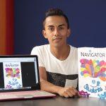 Estudiante de la UAA logra ser uno de los 30 seleccionados en concurso internacional de ilustración y diseño de Portugal