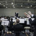 Banda Sinfónica de la Universidad de Brigham Young-Idaho y Sinfónica Municipal de Aguascalientes se presentan con éxito en la UAA