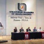 Rinde protesta nueva mesa directiva de la Federación de Estudiantes de la UAA para el periodo 2017-2019