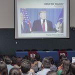 Se impartió en la UAA la conferencia 'Efecto Trump'