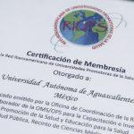 Busca UAA oficializar la Red Mexicana de Universidades Promotoras de Salud como asociación civil