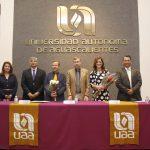 Reconoce UAA a Kalina Isela Martínez Martínez y Luciano Ramírez Hurtado con el Premio Universitario al Mérito en Investigación 2017