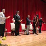 Alumnos de las 10 carreras del Campus Sur recibieron reconocimientos por su excelencia académica.