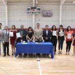 Estudiantes del bachillerato de la UAA presentan nuevo número de la revista 'Laberinto de quimeras'
