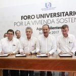 UAA e INFONAVIT firman convenio para mejorar espacios habitacionales