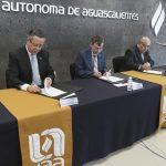 UAA firma convenio de colaboración con la SEFIRECU.