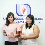 Alumnas de la UAA ganan primer lugar nacional con nuevo producto para la industria de la confitería