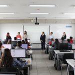 UAA capacita a estudiantes de nuevo ingreso de Bachillerato en el uso y manejo de recursos de biblioteca digital