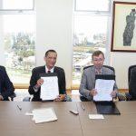 Rectores de la UAA y UG ratifican colaboración interinstitucional en favor de eficiencia terminal y formación docente