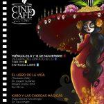"""Finaliza el ciclo """"Cine café para todos"""" de la UAA con proyección de filmes animados sobre Día de Muertos"""