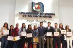 UAA reconoce altos promedios de 140 estudiantes del Centro de Ciencias Económicas y Administrativas
