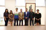 Rector de la UAA se reúne con alumnos destacados de BACHUAA