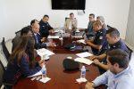 UAA Fiscalía Seguridad Estatal Y municipal fortalecen esfuerzos para garantizar la integridad de la comunidad universitaria