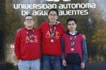 Destacan estudiantes del Bachillerato de la UAA en justa nacional de matemáticas